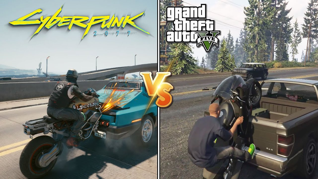 Cyberpunk 2077 VS GTA V