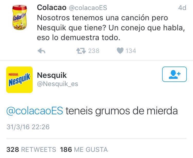 ¿Eres de Cola-Cao o de Nesquik?