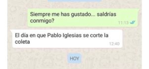 Cuando Pablo Iglesias se corte la coleta